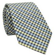 Penguin clifton gingham tie